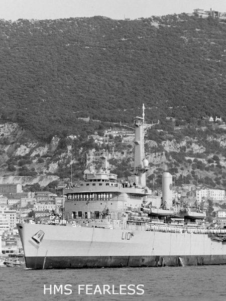 HMS Fearless