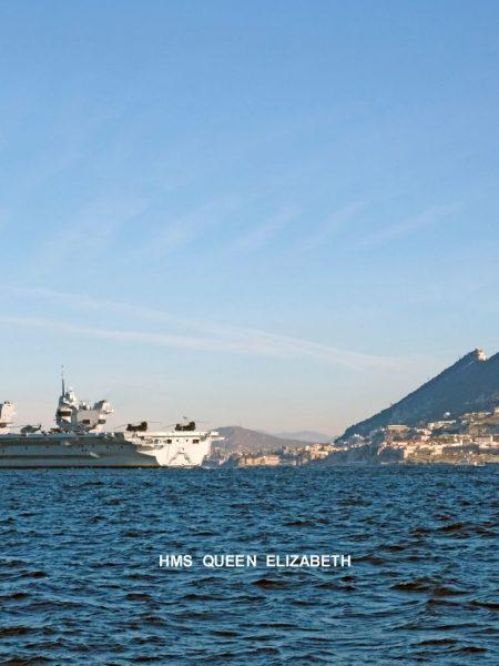HMS Queen Elizabeth arrival 2018 Bugi 3